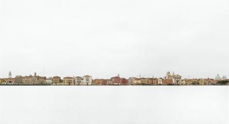 """Canale della Giudecca III, Venezia, 2007, 24 x 44"""" C-Print"""
