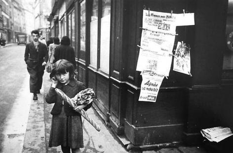 Robert Frank, Paris. 1949.