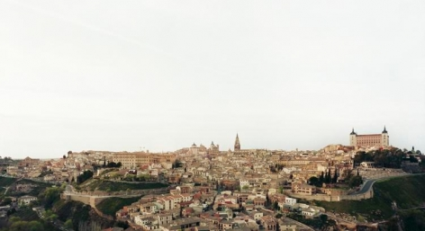 "Toledo II, From the series Horizons, 2009, 	24 x 44"" C-Print"