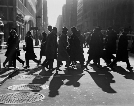 42nd St, New York. 1964, 16 x 20 inch gelatin silver print