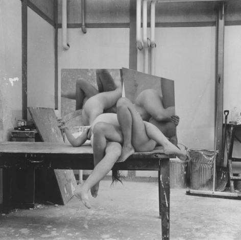 Body Sculpture, 1972, 16 x 20 inch gelatin silver print