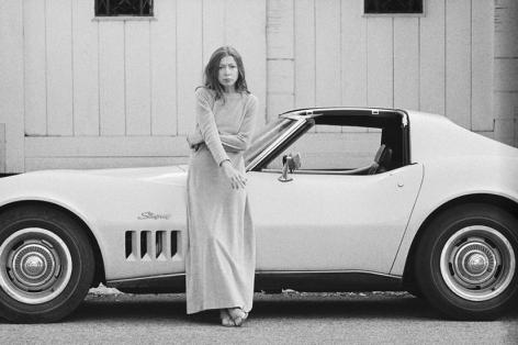 Julian Wasser, Joan Didion. Hollywood. 1968 (33a.)
