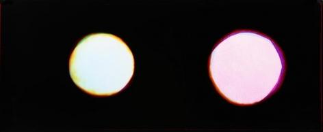 Double Moons (Luca + Lelu), 2016, Analog Chromogenic Photo, Unique