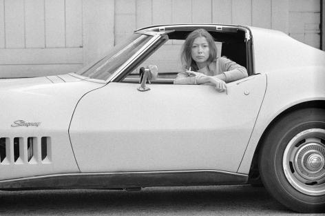Julian Wasser, Joan Didion, Hollywood. 1968 (Frame 11a.)