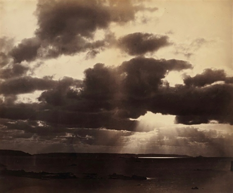 """Col Archibald Henry Plantagenet Stuart-Wortley (1832-90), The Long and Level Sunbeams Shot Their Light Into The Waters"""" c. 1869"""