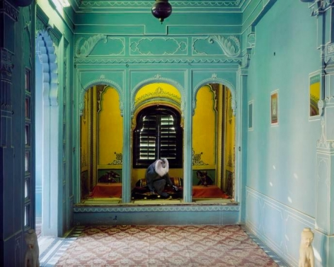 Solitude of the Soul, Udaipur City Palace, 2012, 	23.5 x 30 inch archival pigment print