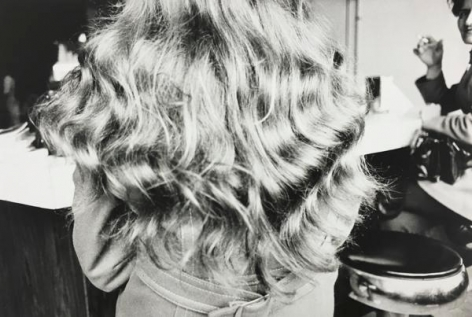 Hair, Bar Stool. 1972, 11 x 14 inch gelatin silver print