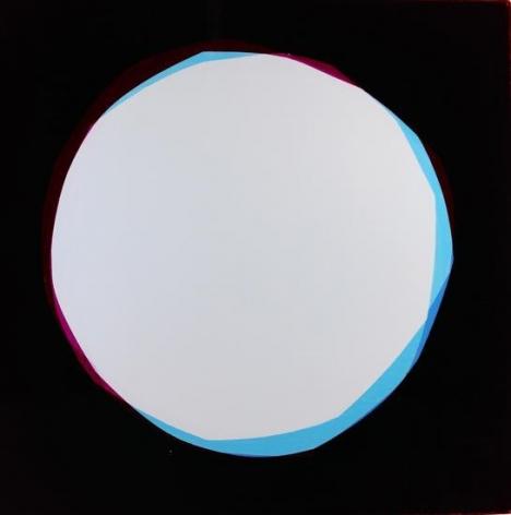 Moons (Justine), 2016, Analog Chromogenic Photo, Unique