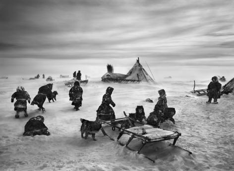 Nenets Nomads Camp, Siberia, Russia. 2011