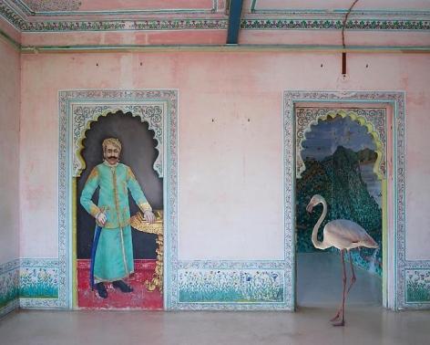 Karen Knorr, The End of the Hunt, Bara Mahal, Udaipur