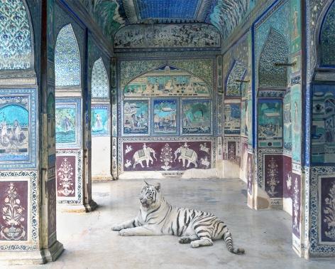 Krishna's Rasa Leela, Chitrasala, Bundi, 2017, Archival pigment print