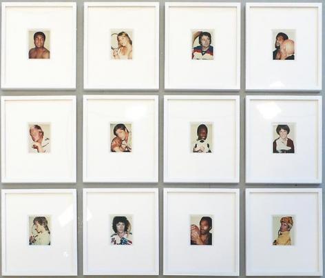Andy Warhol. 12 Portraits of Champion Athletes.  1977-1984.
