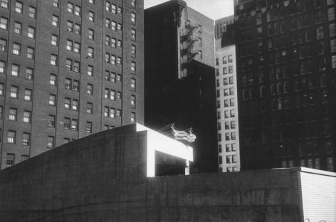 Chicago, 1962, 11 x 14 inch gelatin silver print