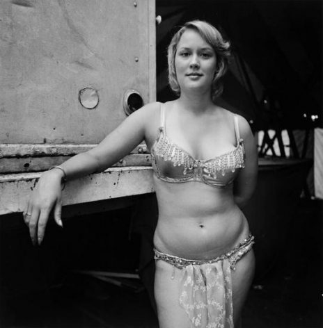 "Ginger, Carlisle, PA, 1975, 	From ""Carnival Strippers"""