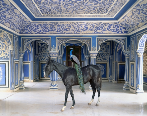 Sikander's Entrance, Chandra Mahal, Jaipur City Palace, Jaipur, 2013, Archival pigment print