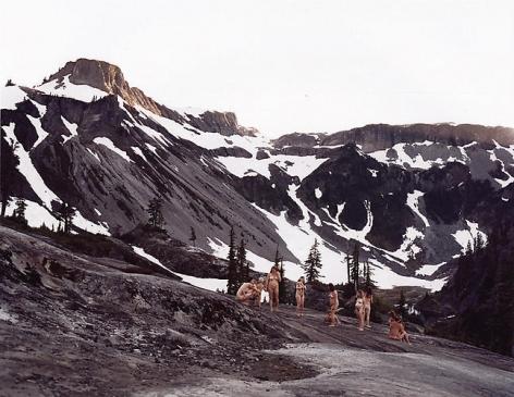 Mount Baker, Commanding View, 2007, 30 x 40 in.