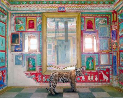 Durga's Mount, Junha Mahal, Dungarpur, 2012, 48 x 60 inch archival pigment print
