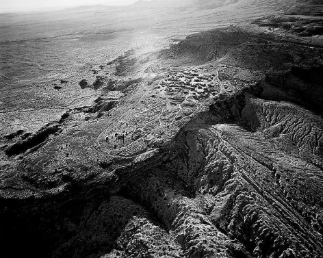 Old Oraibi Looking West, Third Mesa, Hopi Reservation, AZ; 2011, 24 x 30 inch pigment print - Edition of 5*