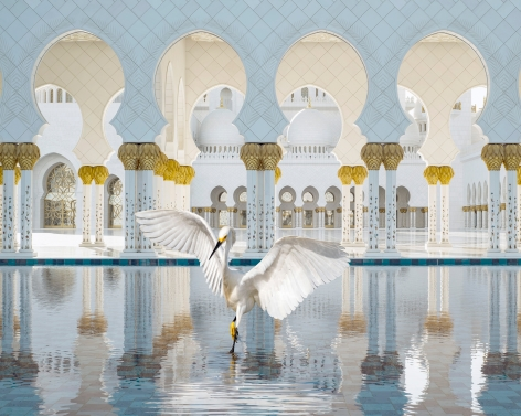 The Way of Ishq, Grand Mosque, Abu Dhabi, 2019, 23.5 x 30 inch pigment print - Edition of 5