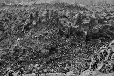 Gold Mine, Serra Pelada, Brazil (Cast of Thousands). 1986