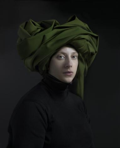 Hendrik Kerstens, Green Turban, 2018