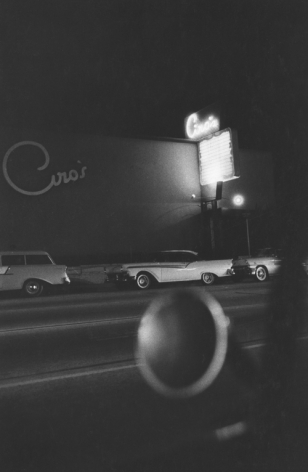 Ciro's Nightclub, Los Angeles. 1955, 11 x 14 inch gelatin silver print