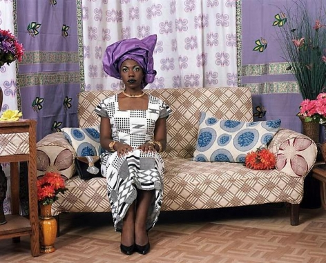 Mickalene Thomas Two Wives: Nollywood 1, 2010