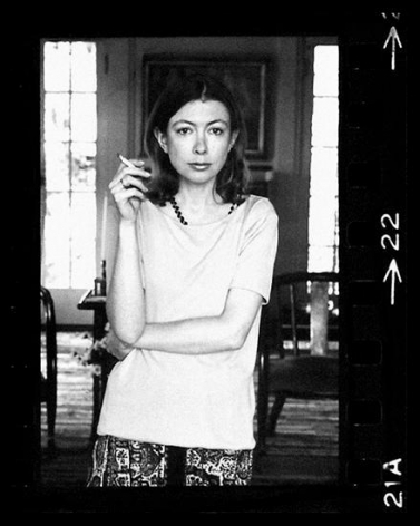 Joan Didion. Hollywood. 1968 (22-2), 11 x 8 inches