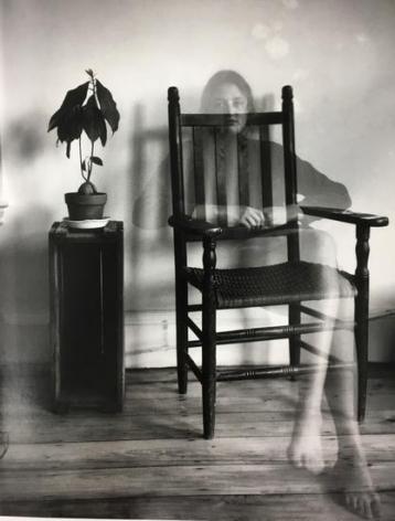 "Self-Portrait. 1971, 17.5 x 11.5"" silver gelatin print"