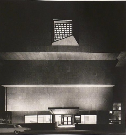 WHITNEY MUSEUM OF AMERICAN ART AT NIGHT, 1966