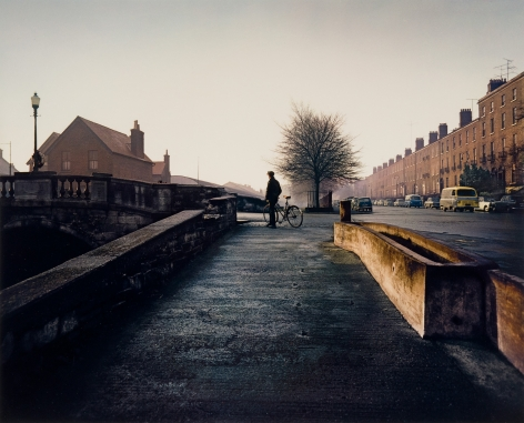 Husband Bridge, Dublin. 1966, 16 x 20 inch dye transfer print