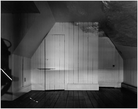 "Abelardo Morell. The Sea in Attic.  1994.  20"" x 24"""