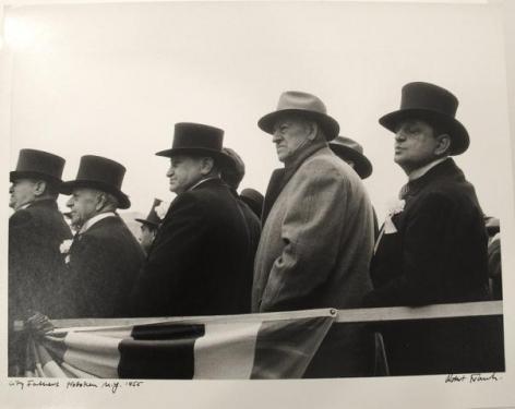 Robert Frank. City Fathers. Hoboken NJ. 1955.