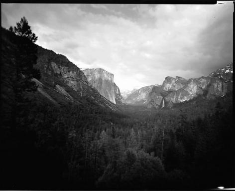"""Len Prince. Yosemite Grand View.  2007.  30"""" x 40"""""""