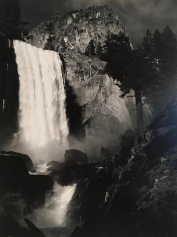 Ansel Adams, 	Vernal Falls, Yosemite National Park, California. 1920