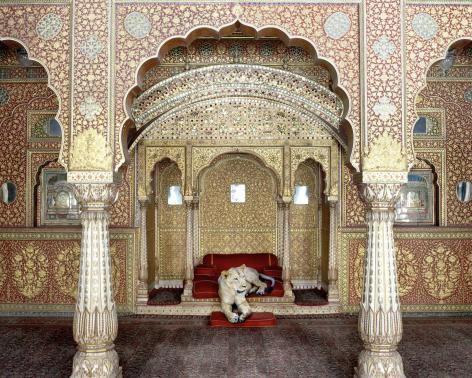 Waiting for Atman. Junargarh Fort. Bikaner, 2011, Archival pigment print