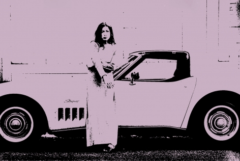 Joan Didion, Hollywood. 1968, 30 x 40 inch archival pigment print