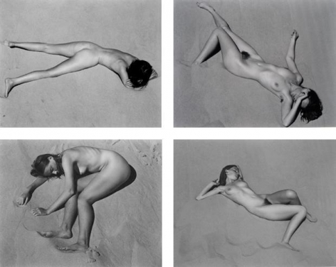 Edward Weston. Nude/Dune.  1936 / Printed by Cole Weston c. 1975.