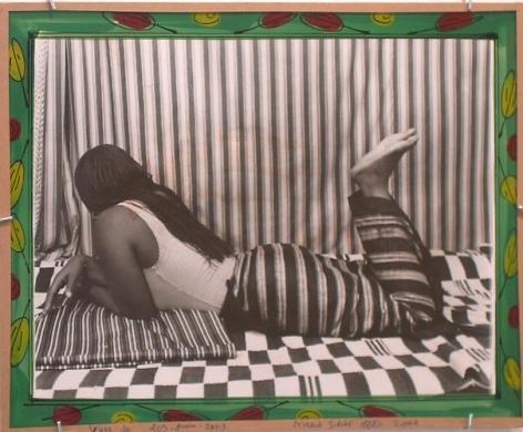 Malick Sidibe. Vues de Dos-Juin 2003.