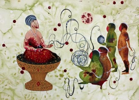 Shiva Ahmadi, Red Dots