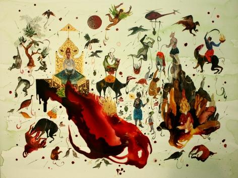 Shiva Ahmadi, Red Moon