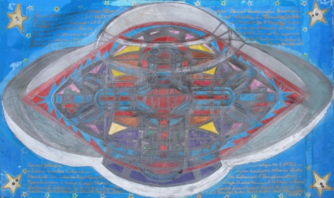 Ionel Talpazan, Diagram of a UFO, 1996