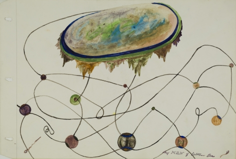 Melvin Edward Nelson, Untitled, 45 x 61 cm (18 x 24 in), pigment on paper, courtesy Cavin-Morris Gallery.
