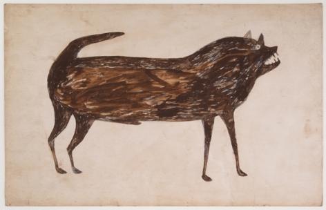 Bill Traylor, Dog, n.d.
