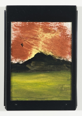 Frank Walter Red Sunset Over Black Mountain