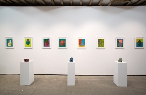 Semiotic Terrain: Art from Australia and New Zealand,Installation view at Salon 94 Freemans.Photo by Olya Vysotskaya.