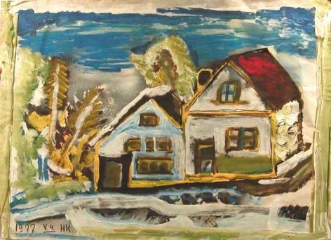 Hans Krüsi Untitled, 1977