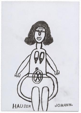 Johann Hauser Untitled, 1977