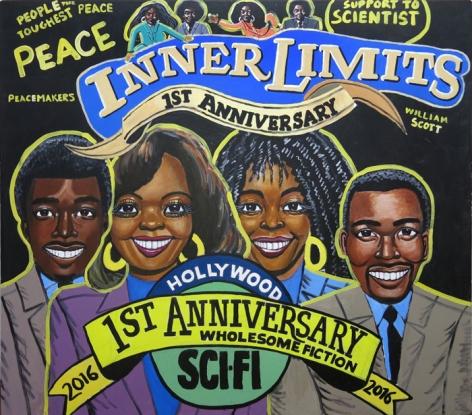 William Scott Untitled (First Anniversary Inner Limits), 2013