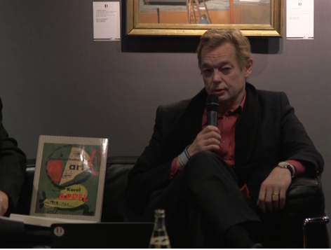 Franz Wilhem Kaiser, Karel Appel and the Influence of Outsider Art, OAF Talks Paris 2017